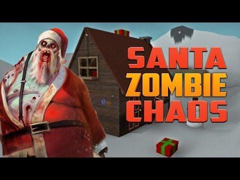 SANTA ZOMBIE CHAOS ZOMBIES MAP (L4D2 Zombie Game)