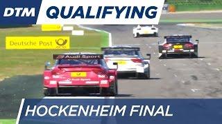 DTM Hockenheim Final 2016 - Qualifying (Race 2) - Re-Live (English)