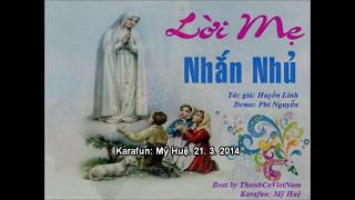 Loi Me Nhan Nhu  Karaoke Beat
