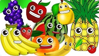 Ten In The Bed Fruits ver.| Learn Fruits | Children Nursery Rhyme | Kids Songs | Baby Puff Puff