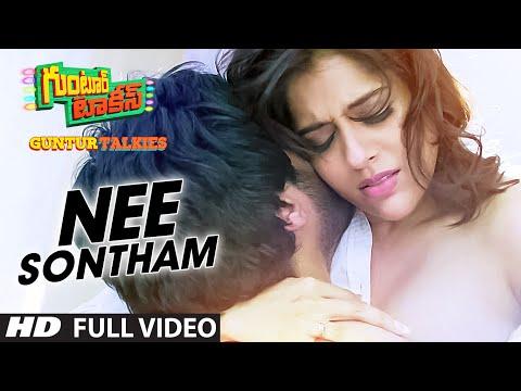 Xxx Mp4 Nee Sontham Full Video Song Guntur Talkies Siddu Jonnalagadda Rashmi Gautam 3gp Sex