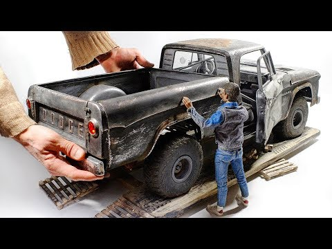Xxx Mp4 1961 Dodge D100 3D Print Wood Foil Styrene Full Build 1 6 3gp Sex