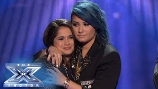 Khaya Cohen  is Eliminated from The X Factor - THE X FACTOR USA 2013