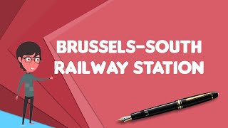 What is Brussels-South railway station?, Explain Brussels-South railway station