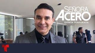 Señora Acero 5 | Mauricio Islas nos cuenta como se integró al elenco | Telemundo