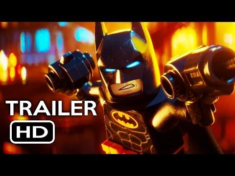 The LEGO Batman Movie Official Trailer 4 2017 Will Arnett Animated Movie HD