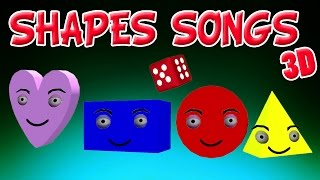The Shapes Song | Shapes for children | Learn Shapes | Shapes Song Collection