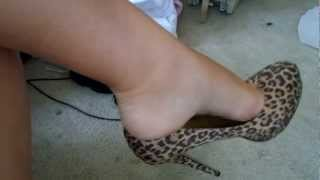 cheetah HEEL DANGLE and SOLES pt. 1