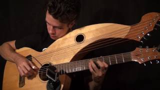 Little Wing - Jimi Hendrix - Harp Guitar/Electric Cover - Jamie Dupuis