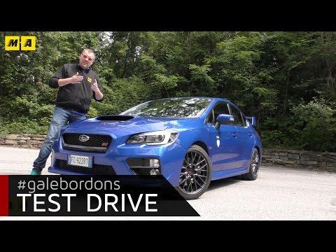 Subaru WRX STI Test drive AMboxing
