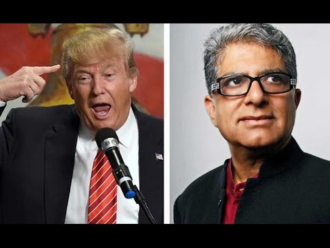 Deepak Chopra: Trump Is 'Emotionally & Mentally Retarded'
