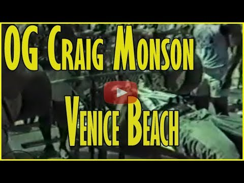 Xxx Mp4 Craig Monson Working Out At Venice Beach The Pit In 1985 With Danny Trejo 3gp Sex