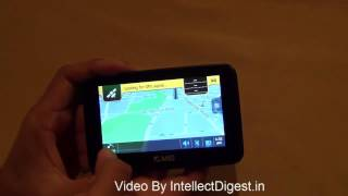 ANS NNG 431 GPS Portable Navigation Quick Hands On Review