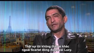 LUCY (clip phỏng vấn): Diễn viên Amr Waked trong vai cảnh sát Del Rio