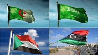 أكبر 5 دول عربية من حيث المساحة