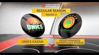 Highlights: Unics Kazan - Panathinaikos Superfoods Athens