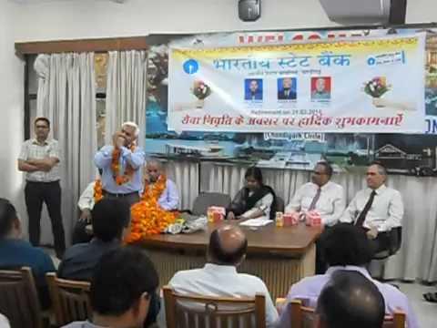 Retirement of SBI Officers : Ye raat bheegi bheegi : Mouth organ