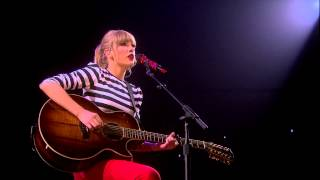"""Sparks Fly"" (acoustic) Live on the RED Tour!"