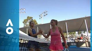 Camila Giorgi v Anna Kalinskaya match highlights (1R) | Australian Open 2018