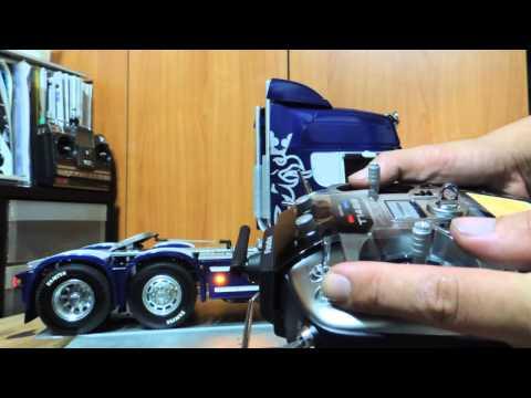 Tamiya Scania R620 SMX M20 futaba T14SG 1