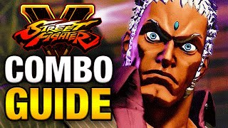 SFV - URIEN COMBO GUIDE - Easy to Advanced [HD 60fps]