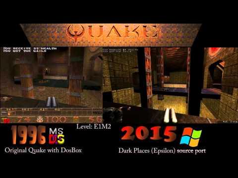 Quake 1: 1996 vs 2015
