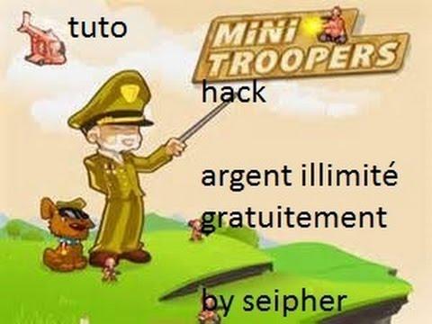 Tuto Hack MiniTroopers or ilimité