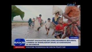Mahigit kalahating milyong Rohingya refugees, lumikas sa Bangladesh dahil sa karahasan sa Myanmar