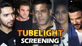 Tubelight Movie Screening   Salman Khan, Sohail, Anil Kapoor, Sonakshi