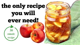 Apple Filling Recipe