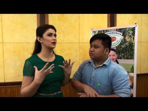 Rubbing Elbows with Carla Abellana