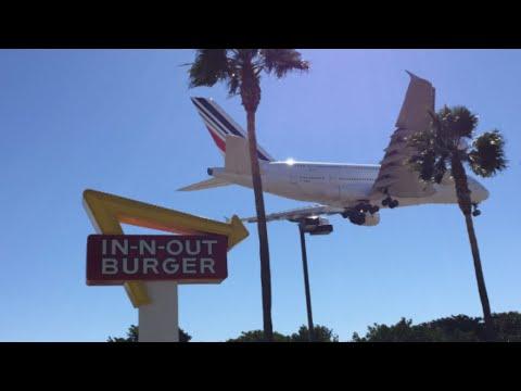 Xxx Mp4 Plane Spotting At Los Angeles International Airport LAX 3gp Sex