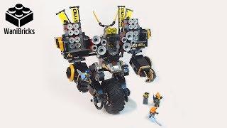 The Lego Ninjago Movie 70632 Quake Mech - Lego Speed Build