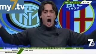 "DirettaStadio 7Gold Inter Bologna 2-1 Filippo Tramontana: ""MA DAI, MA DAI, MA DAI!"""