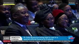 Vuyo Skweyiya pays tribute to his father Zola Skweyiya