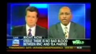 Michael Steele Clowns Himself on Fox News