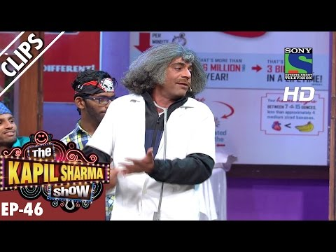 Dr. Mashoor Gulati teaching dance to his patients - The Kapil Sharma Show - Ep.46 -25th Sep 2016