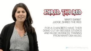 Shred The Red - Marti Sarbit