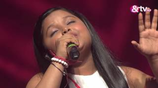 Riya Biswas - Hoton Mein Aisi Baat - Liveshows - Episode 19 - The Voice India Kids