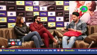 Facebook Live with Ranveer Singh and Vaani Kapoor for Befikre by Shardul Pandit   SpotboyE