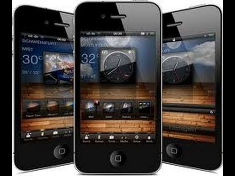Best Winterboard Theme Of All Time For iPhone 4 And iPod Touch 4G LiveOS