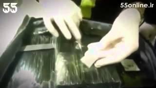 کشف ۲ میلیون دلار کوکائین از چمدان قاچاقچی احمق