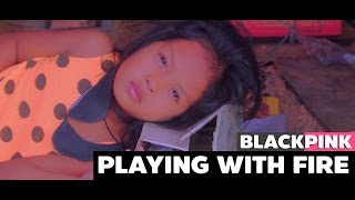 BLACKPINK - '불장난 (PLAYING WITH FIRE)' M/V | Parody Cover by DEKSORKRAO from Thailand