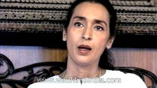 Actress Nutan talks about Bimal Roy
