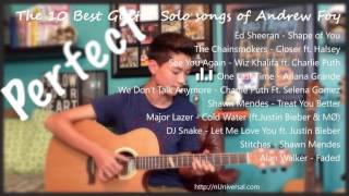 The 10 Best Guitar Solo songs of Andrew Foy (Guitar Player)
