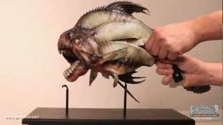 Piranha 3D - Mechanical Piranha Puppet