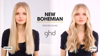 hair tutorial | textured waves | ghd wanderlust