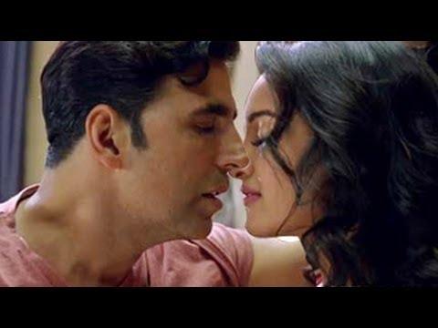 Akshay Kumar & Sonakshi Sinha HOT KISSING SCENE in Holiday Trailer
