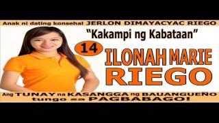 Ilonah Marie Riego para konsehal ng bayan ng BAUAN. #14