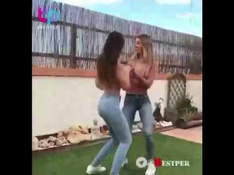 رقص جذاب و داغ دو دختر با اهنگ قیصر